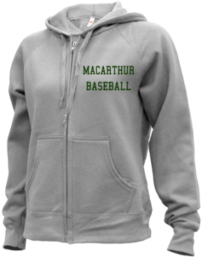 MacArthur High School Zip-up Hoodies