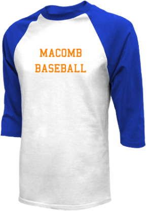 Macomb High School Raglan Shirts