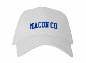 Macon Co. High School Kid Embroidered Baseball Caps
