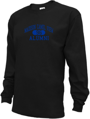 Madison Camel View School Long Sleeve Shirts