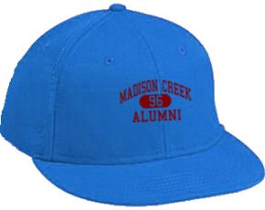 Madison Creek Elementary School Flat Visor Caps
