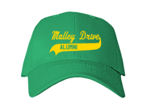 Malley Drive Elementary School Embroidered Baseball Caps
