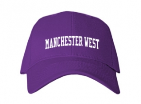 Manchester West High School Kid Embroidered Baseball Caps