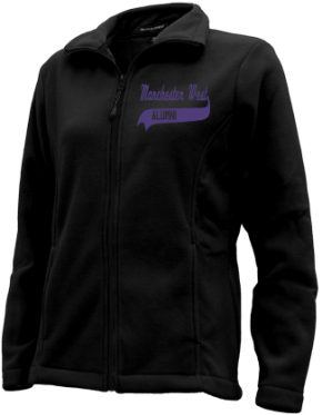 Manchester West High School Embroidered Fleece Jackets