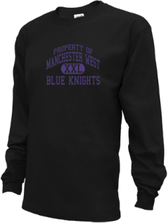 Manchester West High School Kid Long Sleeve Shirts