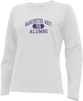 Manchester West High School Long Sleeve Shirts