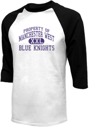 Manchester West High School Raglan Shirts