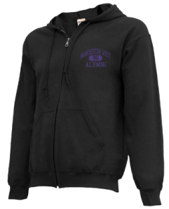 Manchester West High School Zip-up Hoodies