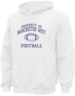 Manchester West High School Kid Hooded Sweatshirts