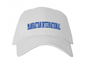 Manhattan International High School Kid Embroidered Baseball Caps