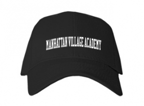 Manhattan Village Academy High School Kid Embroidered Baseball Caps
