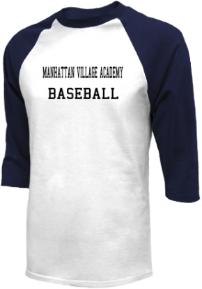 Manhattan Village Academy High School Raglan Shirts