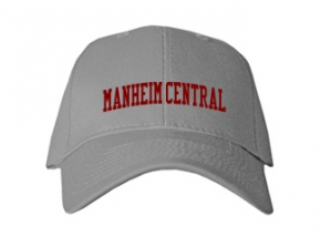 Manheim Central High School Kid Embroidered Baseball Caps