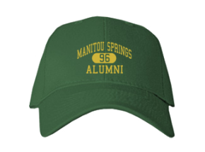 Manitou Springs High School Embroidered Baseball Caps