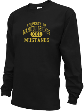 Manitou Springs High School Kid Long Sleeve Shirts