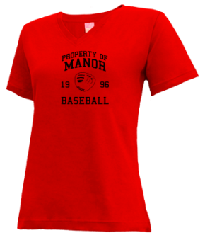 Manor High School V-neck Shirts