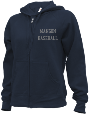 Manson High School Zip-up Hoodies