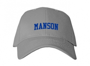 Manson High School Kid Embroidered Baseball Caps
