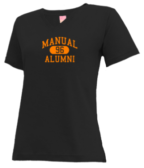 Manual High School V-neck Shirts
