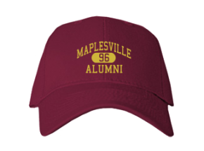 Maplesville High School Embroidered Baseball Caps