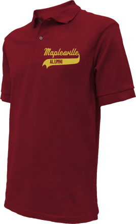 Maplesville High School Embroidered Polo Shirts