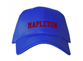 Mapleton High School Kid Embroidered Baseball Caps