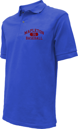 Mapleton High School Embroidered Polo Shirts