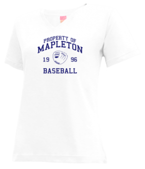 Mapleton High School V-neck Shirts