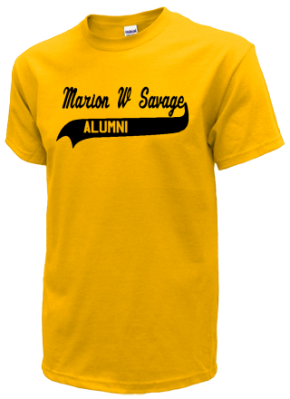 Marion W Savage Elementary School T-Shirts