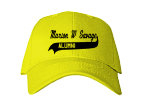 Marion W Savage Elementary School Embroidered Baseball Caps