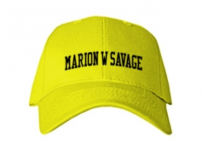 Marion W Savage Elementary School Kid Embroidered Baseball Caps