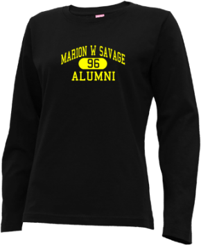 Marion W Savage Elementary School Long Sleeve Shirts