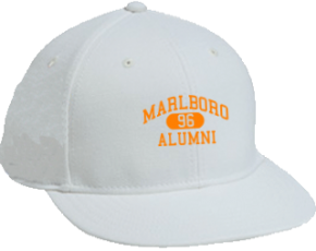Marlboro Middle School Flat Visor Caps