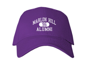 Marlon Hill Elementary School Embroidered Baseball Caps
