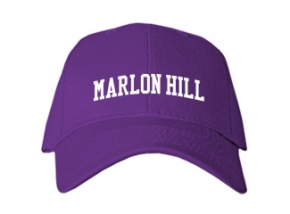Marlon Hill Elementary School Kid Embroidered Baseball Caps