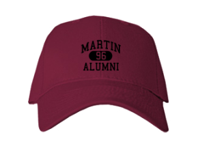 Martin High School Embroidered Baseball Caps