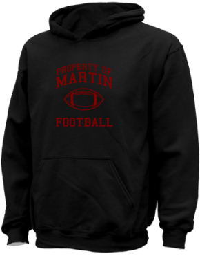 Martin High School Kid Hooded Sweatshirts