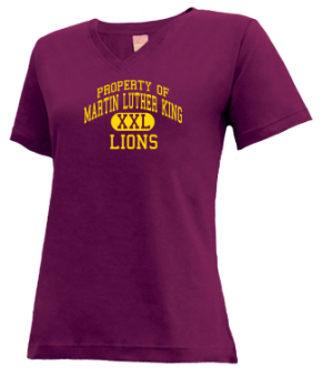 Martin Luther King Elementary School V-neck Shirts