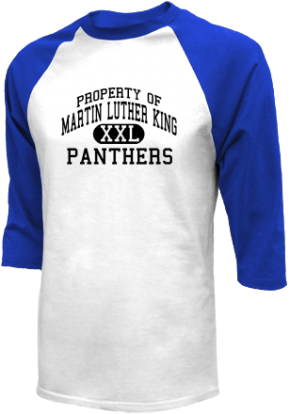 Martin Luther King Middle School Raglan Shirts