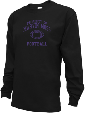 Marvin Moss Elementary School Kid Long Sleeve Shirts