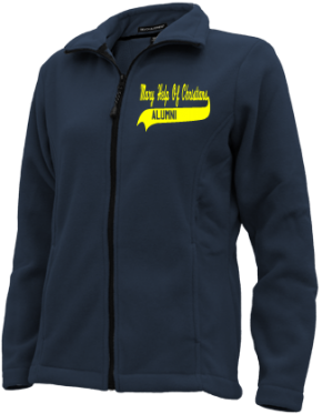 Mary Help Of Christians School Embroidered Fleece Jackets