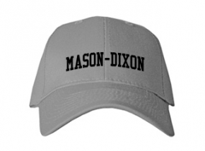 Mason-dixon Elementary School Kid Embroidered Baseball Caps