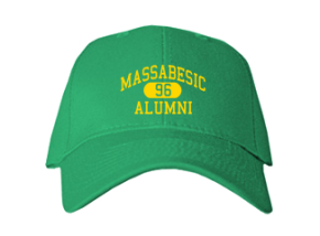 Massabesic High School Embroidered Baseball Caps