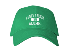 Mathew A Henson Elementary School Embroidered Baseball Caps