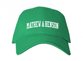 Mathew A Henson Elementary School Kid Embroidered Baseball Caps