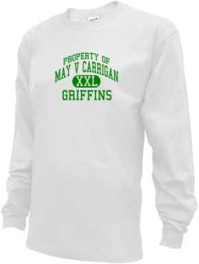 May V Carrigan Middle School Kid Long Sleeve Shirts