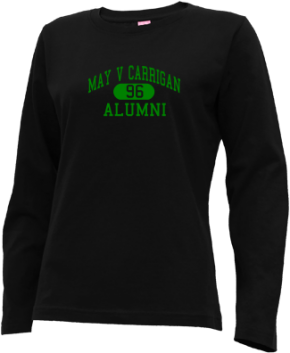May V Carrigan Middle School Long Sleeve Shirts