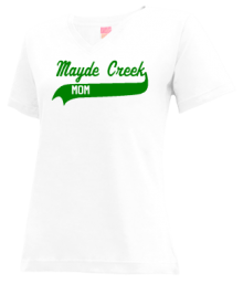 Mayde Creek Junior High School V-neck Shirts