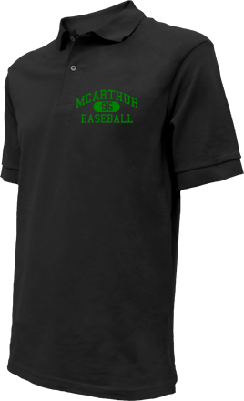 Mcarthur High School Embroidered Polo Shirts
