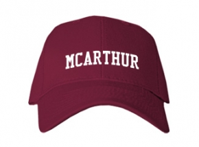 Mcarthur Middle School Kid Embroidered Baseball Caps